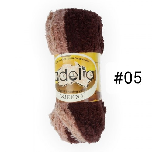 Аделия Сиенна нитки для вязания Adelia Sienna