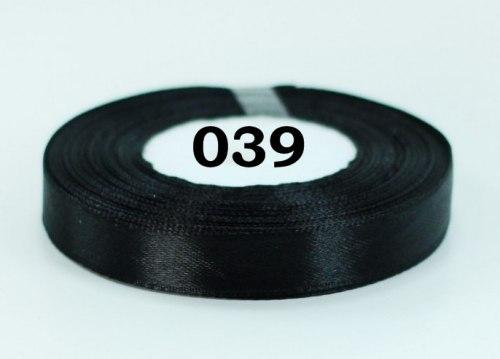 Лента атласная ширина 12 мм (1,2 см) Разные цвета