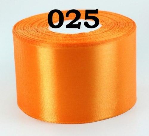 Лента атласная ширина 50 мм (5 см) Разные цвета