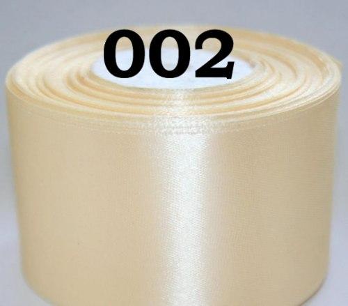 Атласна стрічка, ширина 50 мм (5 см) Разні кольори
