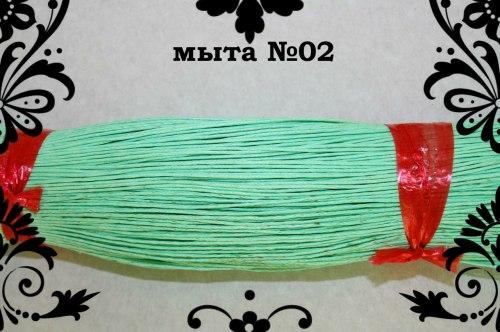 Шнур вощений 1 мм, колір в асортименті