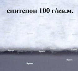 Синтепон белый 100 г/м2