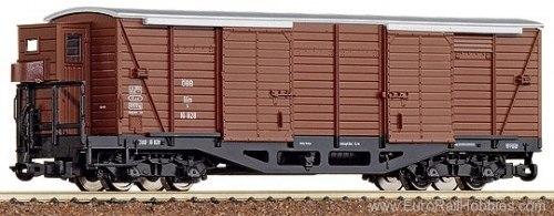 Австрийский узкоколейный 4-осный крытый вагон с будкой ÖBB ROCO 34522