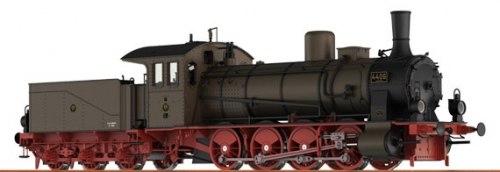 Прусский грузовой паровоз G 7.1 der K.P.E.V. (BR 55) Brawa 40700