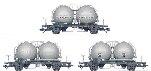 Cет голландских цементовозов, тип Uces NS Märklin 46626