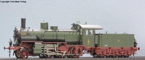 Прусский грузовой паровоз G 5.4 der K.P.E.V. (BR 54) Brawa 40450