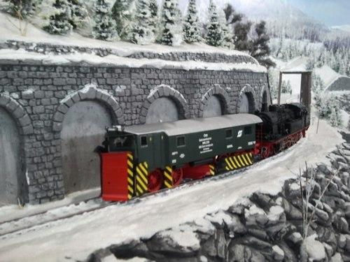 Австрийский снегоуборочный комбайн серии 985.229, ÖBB Modellbau Schwaiger SW 3500