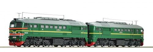 Советский двух-секционный тепловоз 2M62 RZD ROCO 73794