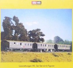 Состав лазарет-поезда, 1-я мировая, Вюртемберг, K.W.St.E. Brawa 2159