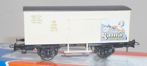 "Немецкий саксонский вагон-ледник ""Rama"" K.S.Sts.E.B. ROCO 47302"