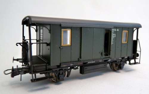 Германский почтово-багажный вагон DB ROCO 44808
