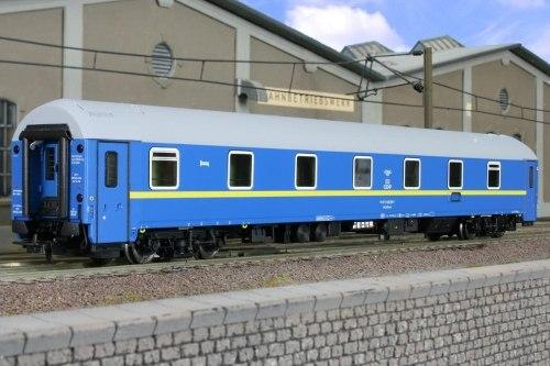 Украинский спальный вагон тип WLABmee UZ L.S. Models 48022