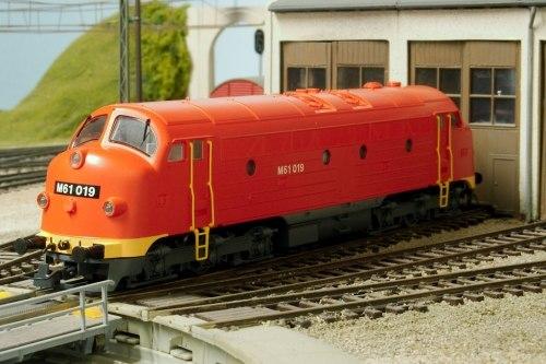 Венгерский дизель-локомотив Nohab M 61 MÁV ROCO 62854