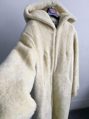 """Пальто """"кокон"""" шерстяное утепленное Millennium 786"""