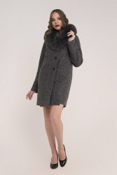 Пальто зимнее с мехом Millennium 583
