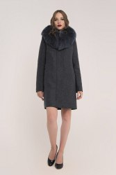 Пальто зимнее с мехом Millennium 584