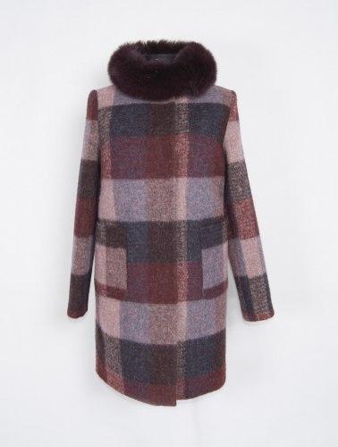 Пальто зимнее с мехом Millennium 591-2