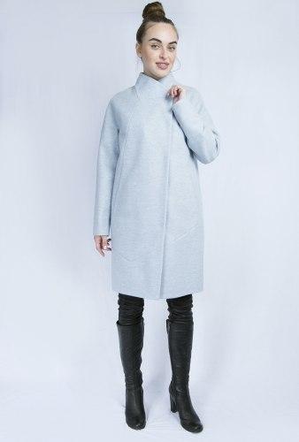 Пальто голубое классика Millennium 2005