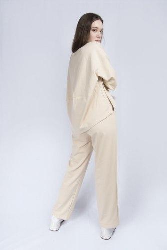 Бежевый костюм оверсайз Millennium 2113