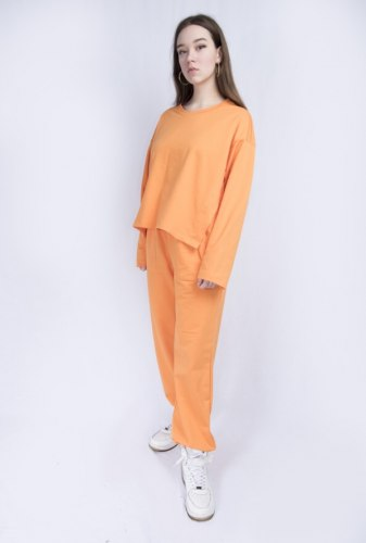 Оранжевый костюм оверсайз Millennium 2113