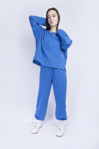 Синий костюм оверсайз Millennium 2113