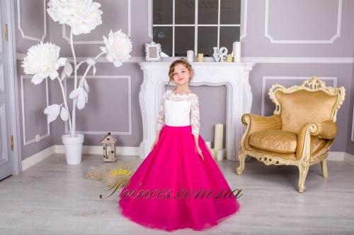 Платье Мелиса малиновая