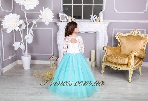 Платье Мелиса мятная