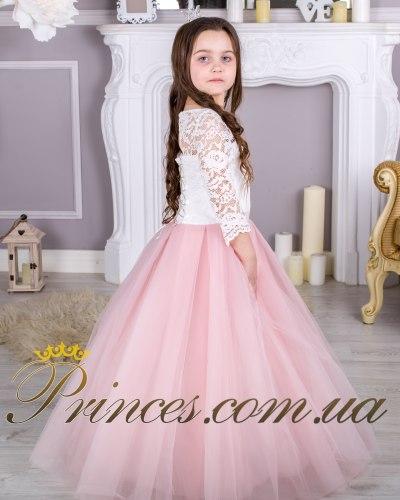 Платье Мелиса пудровая
