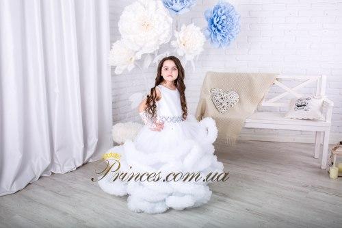 Платье Облачко белое