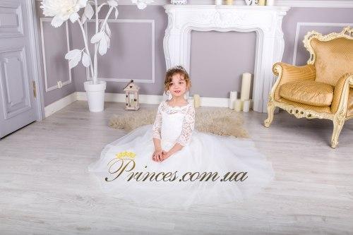 Платье Мелиса молочная