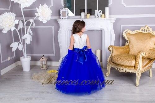 Платье ЛИЛИЯ синяя