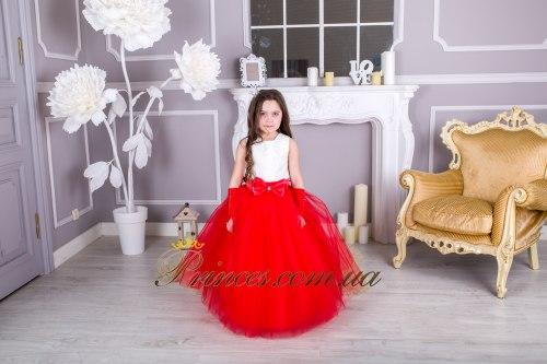 Платье ЛИЛИЯ красная