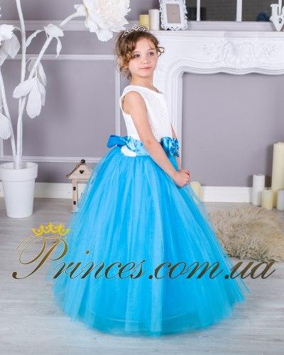 Платье ЛИЛИЯ морская волна
