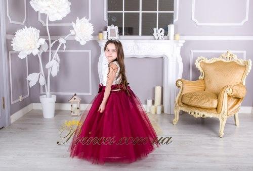 Платье ЛИЛИЯ бордовая