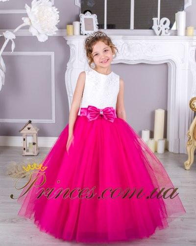Платье ЛИЛИЯ малиновая