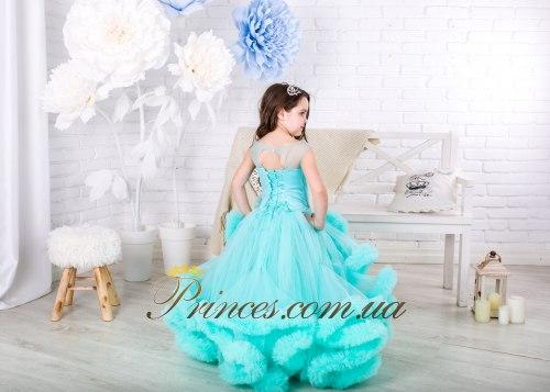 Платье Облачко мятное