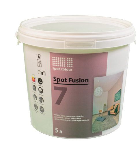 Интерьерная краска Spot Fusion 7 Spot Colour