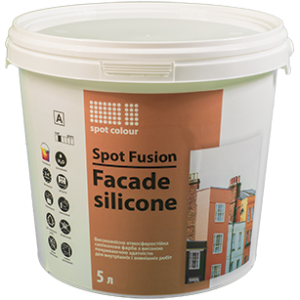 Фасадная краска Spot Fusion Facade Silicone Spot Colour